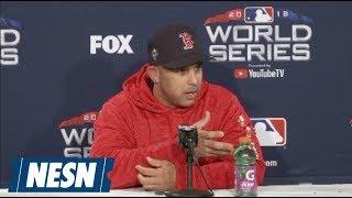 Boston Red Sox 2018 World Series Game 3 Pregame Press Conferences