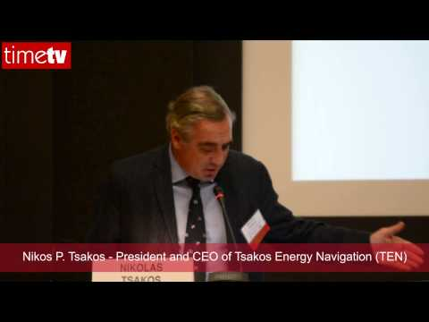 Nikos P. Tsakos - President and CEO of Tsakos Energy Navigation (TEN)
