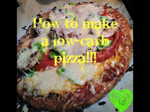 How to Make The Best Low Carb Pizza Crust