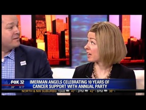 Imerman Angels Visits FOX Good Day Chicago To Talk About The Annual Blue & White Party