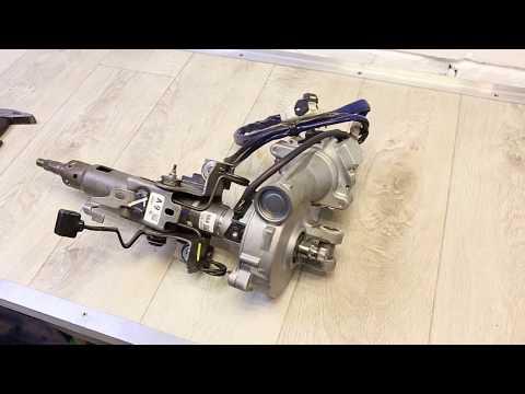 Устранение стука в рулевой колонке Toyota Corolla 150