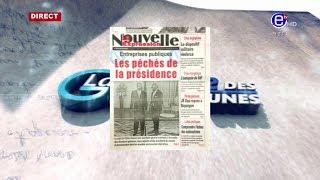 LA REVUE DES GRANDES UNES DU LUNDI 19 AOUT 2019 - ÉQUINOXE TV