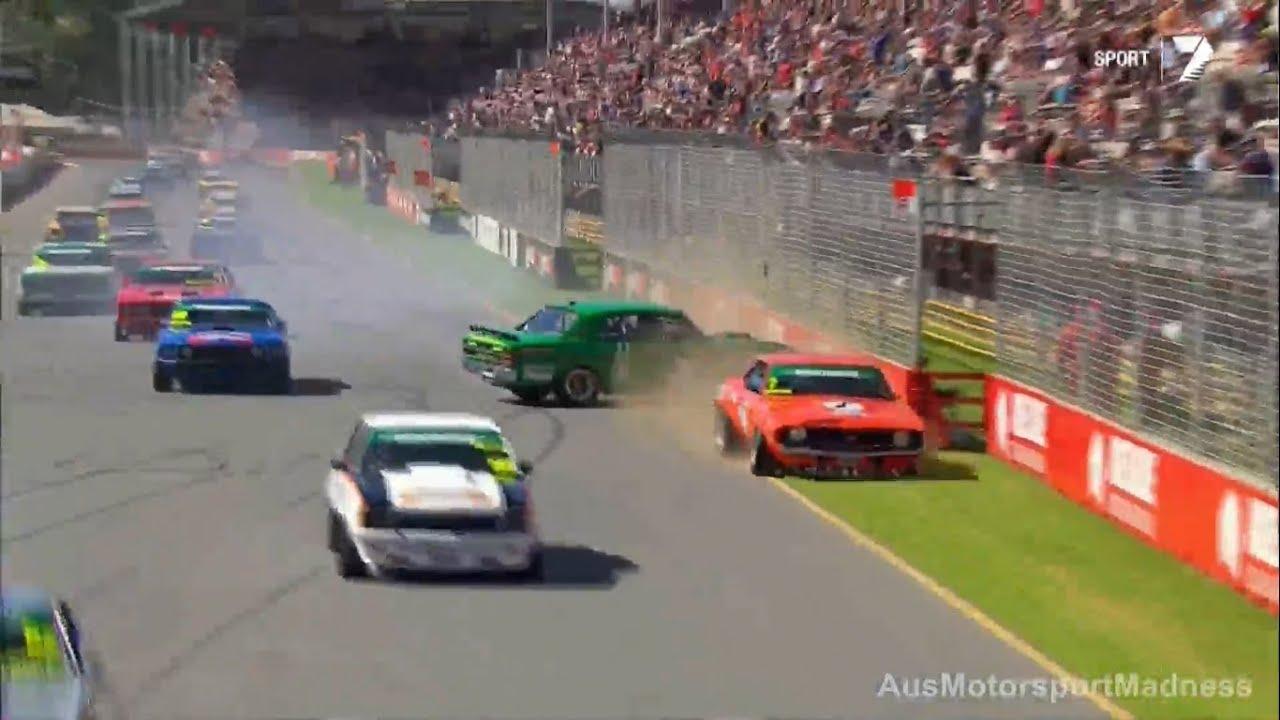 Touring Car Masters | Race 2 Start Crash - Clipsal 2014 - YouTube