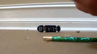 How To Make A Tech Deck Grind Rail!