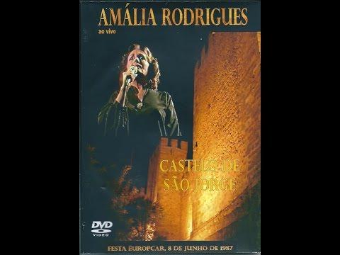 Amália Rodrigues Castelo de S Jorge. Lisboa