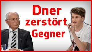 Felix von der Laden lässt Gegner auflaufen! Diskussion über Artikel 13 bei Maybrit Illner