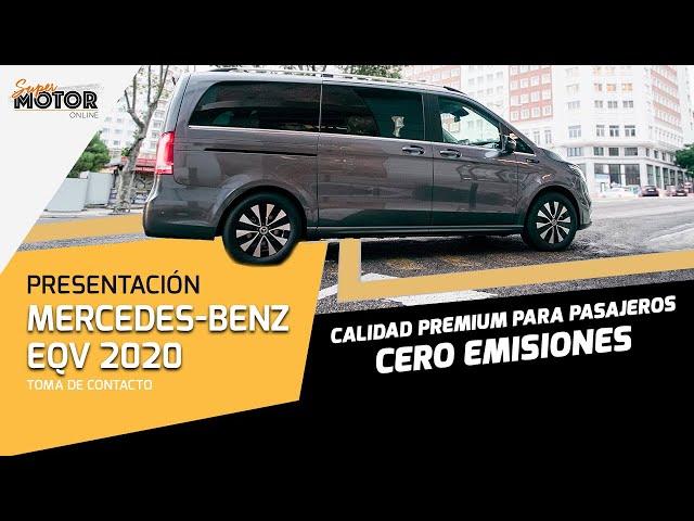 Presentación Nacional del Mercedes Benz EQV 2020 / Toma de contacto / SuperMotor.Online