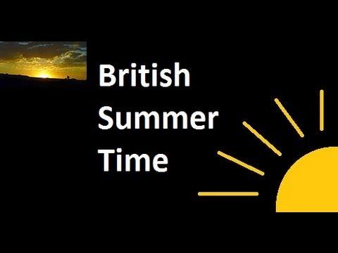 British Summer Time: When the clocks go forward!