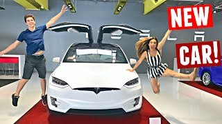 BUYING MY DREAM CAR! Picking Up My Tesla Model X At 19 Years Old (2017)