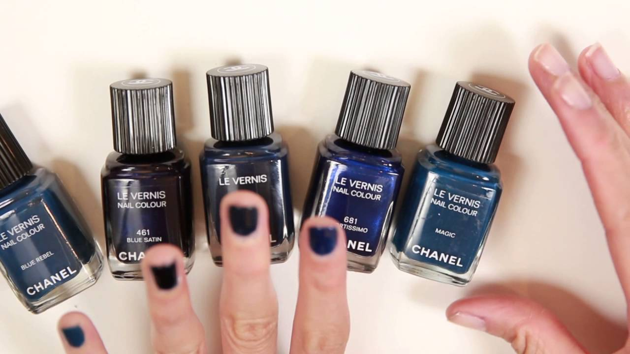 chanel le vernis longwear nail polish in mariniere 516 youtube. Black Bedroom Furniture Sets. Home Design Ideas