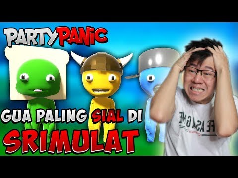 KENAPA GUA PALING SIAL!!! PART 1 - PARTY PANIC INDONESIA