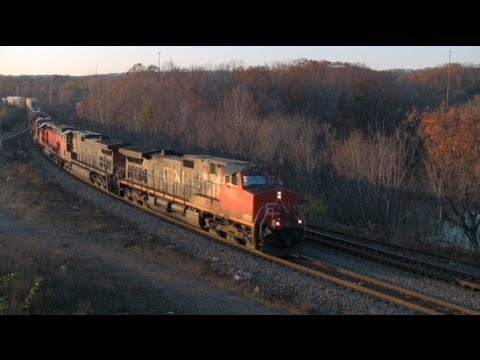 Thumbnail: Canadian National Train with a Massive Rare Consist! [HD]