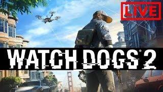WATCH DOGS 2 - Bora zerar esse jogo! Ps4