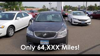 2013 Buick LaCrosse 4dr Sdn Leather FWD  6H170289A
