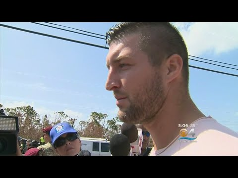 Tim Tebow In Florida Keys: 'There Are Lot Of Heroes In This State'