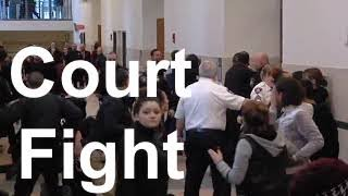 (outside the) Courtroom Fight