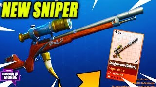 The New Sniper Long View Should we take it?! Fortnite Saving the World