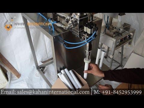 Toothpaste Tube Filling and Sealing machine KI-STFS