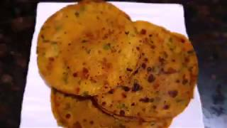 Left Over Dal ke Khasta Masala Paratha Recipe.