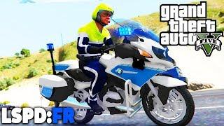 GTA 5 LSPD:FR - Motorradpolizei + Neue EINSÄTZE! - Deutsch - Polizei Mod #60 Grand Theft Auto V