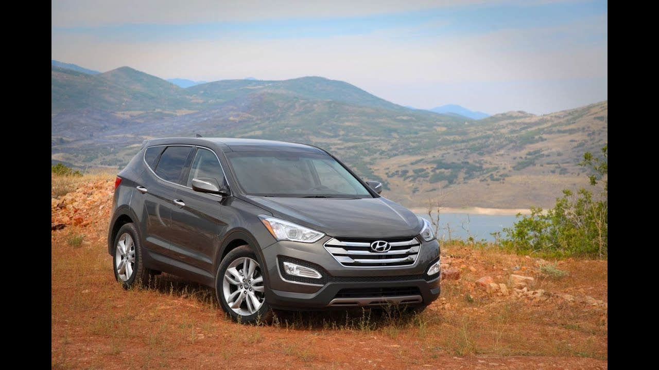 2013 Hyundai Santa Fe Review   YouTube