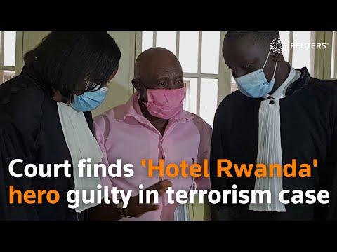 Court finds 'Hotel Rwanda' hero guilty in terrorism case
