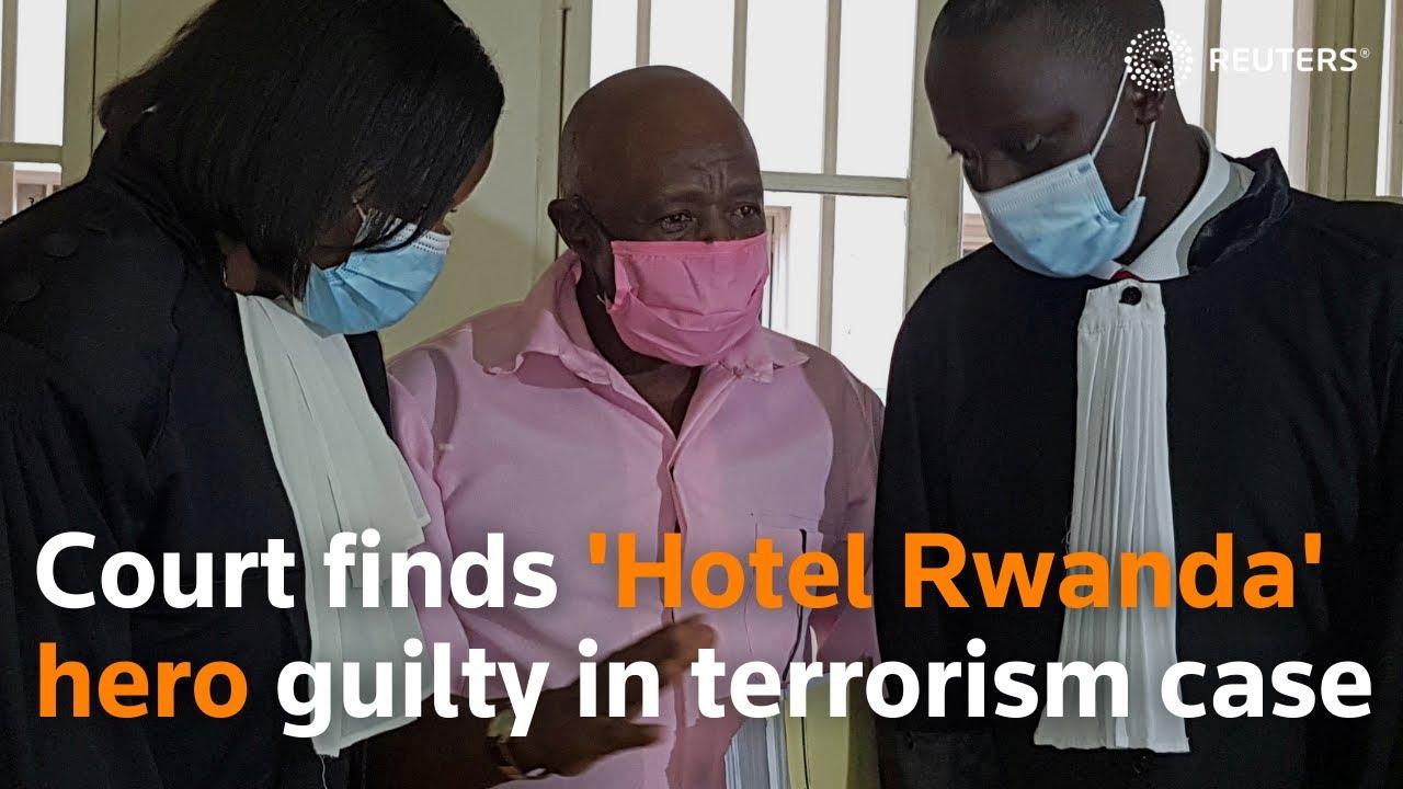 Download Court finds 'Hotel Rwanda' hero guilty in terrorism case
