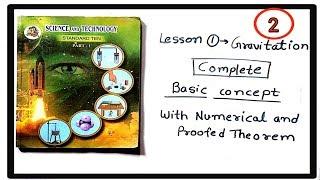 Science class 10th Gravitation(गुरुत्वाकर्षण) new syllabus part-2