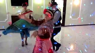 Цыганский танец гостей на свадьбе 2018 Запорожье, тамада-ведущая Мария