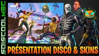 FUTUR PRESENTATION AND NEW SKINS! DISCO MODE DISCOVERY! FORTNITE BATTLE ROYAL! NEWS!