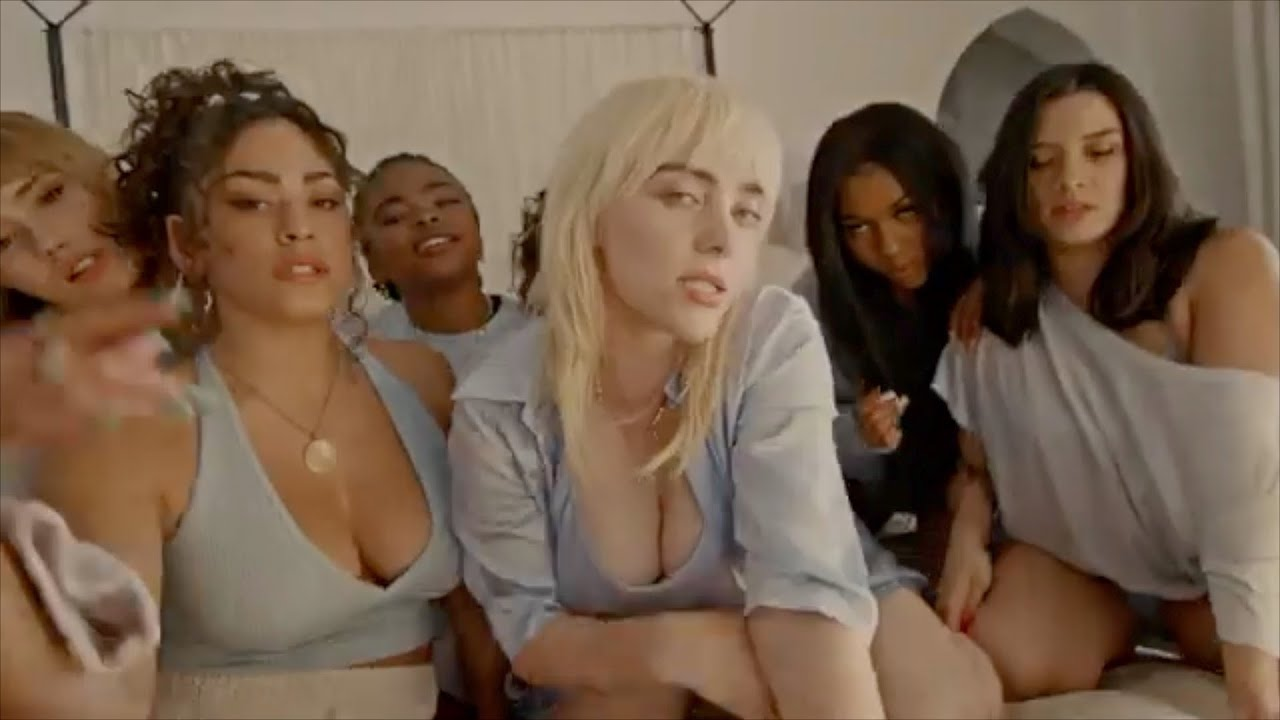Billie eilish tits and ass Billie Eilish Lost Cause Hot Moments For 2 Minutes Youtube