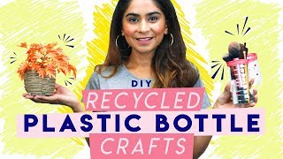How To Recycle Plastic Bottles | DIY Craft |Hauterfly