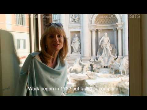Rome Guide. Trevi Fountain the best view from Doris Visits, + Spanish Steps