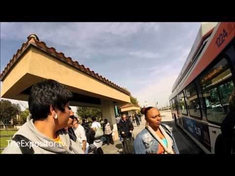Evangelized the Fontana Metrolink train - bus station (preached & tract distribution)