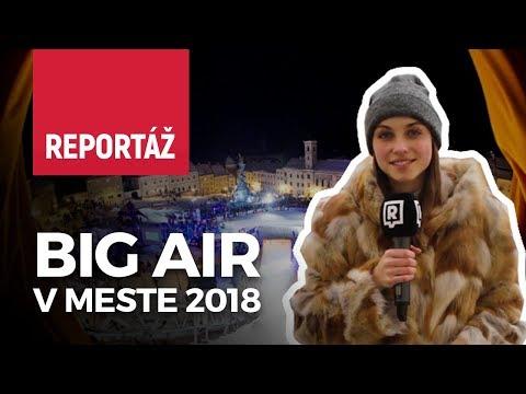 Big Air v meste Kremnica 2018