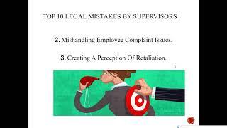 HR Legal Issues Webinar Series  Key Employment Legislation & Compensation Issues 201904241400
