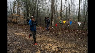 Gary Robbins finishes the second lap of the 2018 Barkley Marathons