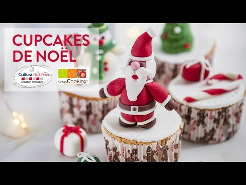 Cupcake decoration de noel