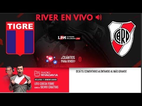 """Tigre vs River Plate en VIVO - Relata Atilio """"Lito"""" Costa Febre"""