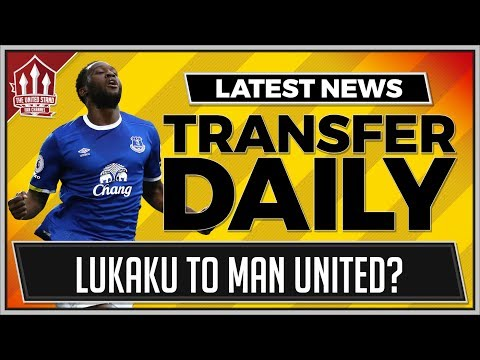 LUKAKU To MAN UTD Instead of MORATA? MUFC Transfer News