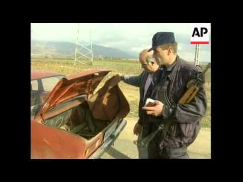 YUGOSLAVIA: BORDER TENSION INCREASES