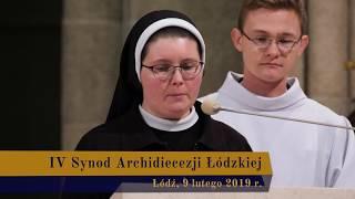Modlitwa wiernych podczas IV Synodu Archidiecezji Łódzkiej | 9 lutego 2019