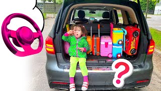 Five Kids A lot of Suitcases Song + More Children's Songs