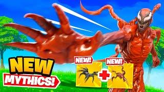 *NEW* Carnage + Venom Mythics in Fortnite