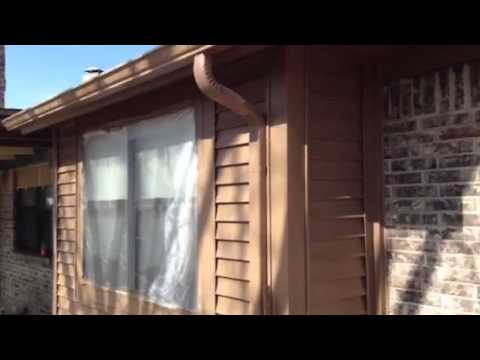 Exterior Super Paint Sw 6088 Nuthatch Sherwin Williams Youtube
