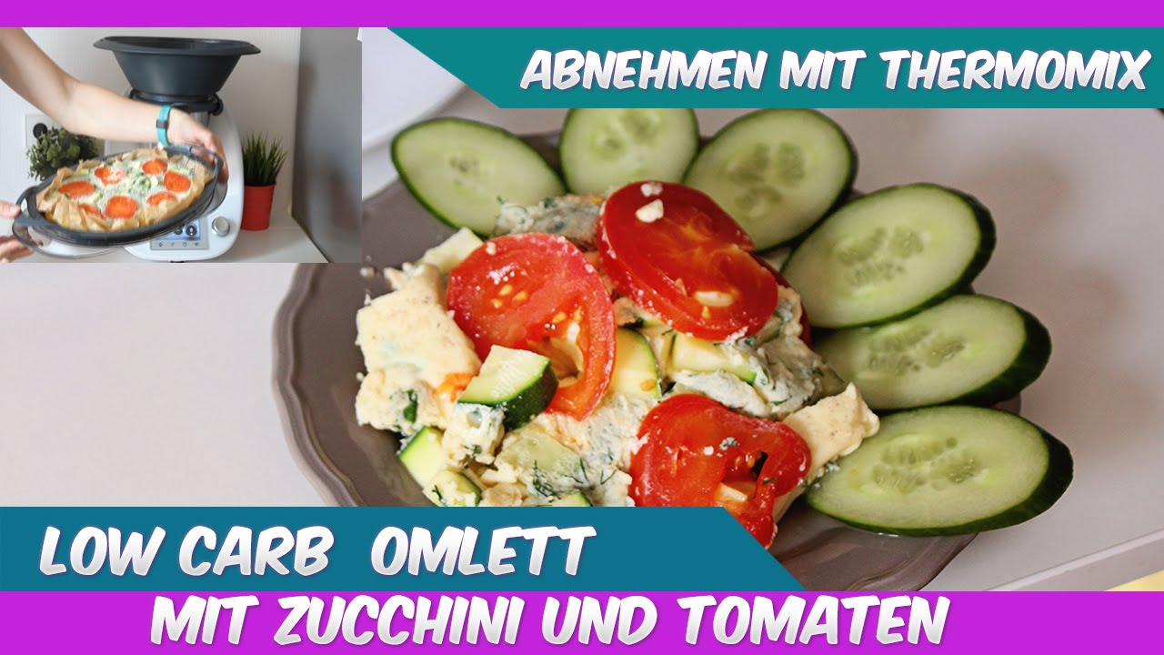 thermomix tm5 low carb omlett mit zucchini und tomaten youtube. Black Bedroom Furniture Sets. Home Design Ideas