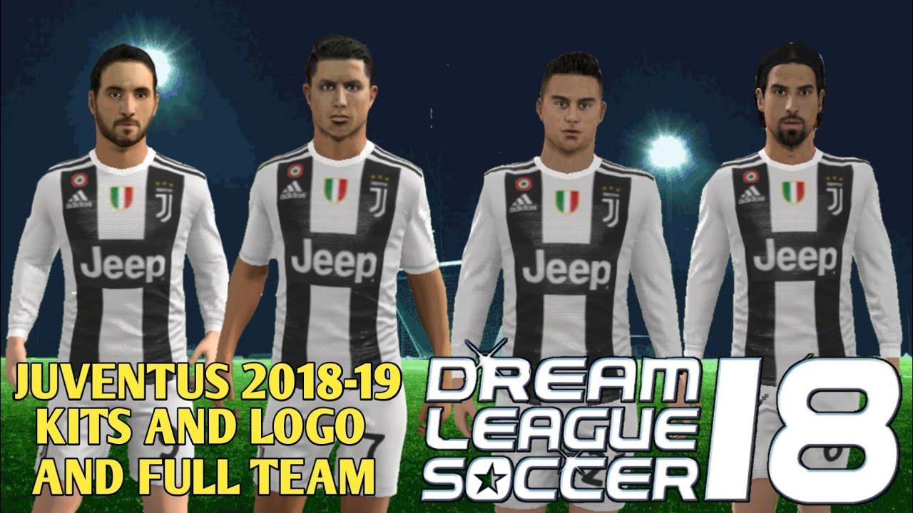 new concept 8a0d5 b9cc0 How To Create Juventus Team Kits & Logo In Dream League Soccer 2018