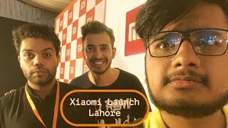 Xiaomi Launch Event In Lahore Feat. Ducky Bhai,Haseeb Ismat(khujlee family)