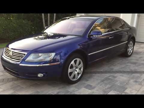 2005 Volkswagen Phaeton W12 Review and Test Drive by Bill - Auto Europa Naples
