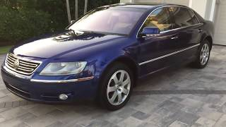 2005 Volkswagen Phaeton W12 Review and Test Drive by Bill - Auto Europa Naples MercedesExpert com